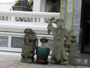 Каменные дзюдоисты из Бангкока - В.Батарин