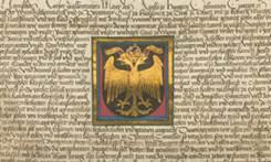 Фридрих III. герб города Вена в 1461