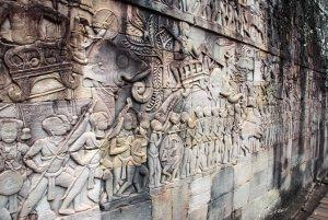 Ангкор.барельефы. пояса