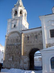 Боголюбово.Монастырь.Дворец Андрея Боголюбского.