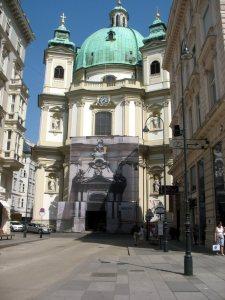 Вена. Собор Святого Петра