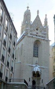 Готическая церквь -  Мария ам Гештаде.Вена