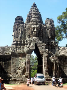 Ангкор Тхом. Ворота и Ангкор