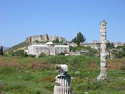 Руины якобы храма Артемиды в Эфесе