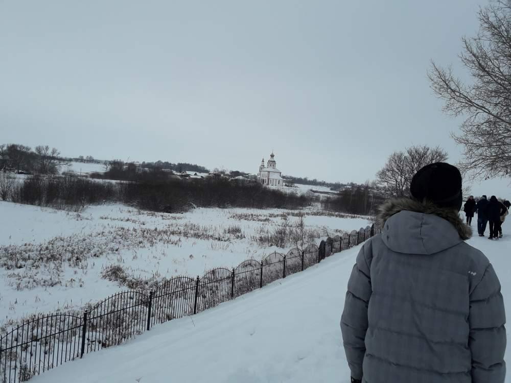 Вид с Вала Суздальского Кремля