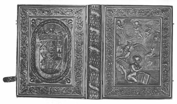 Серебряный оклад готской Библии. Иллюстрация 2.